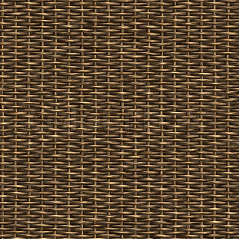 A Woven Wicker Material You Might See In Some Furniture Or Basket Stock Photo Colourbox