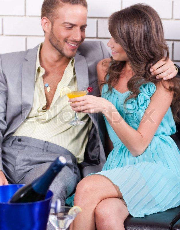 Amorous couple sharing fun moments     | Stock image | Colourbox