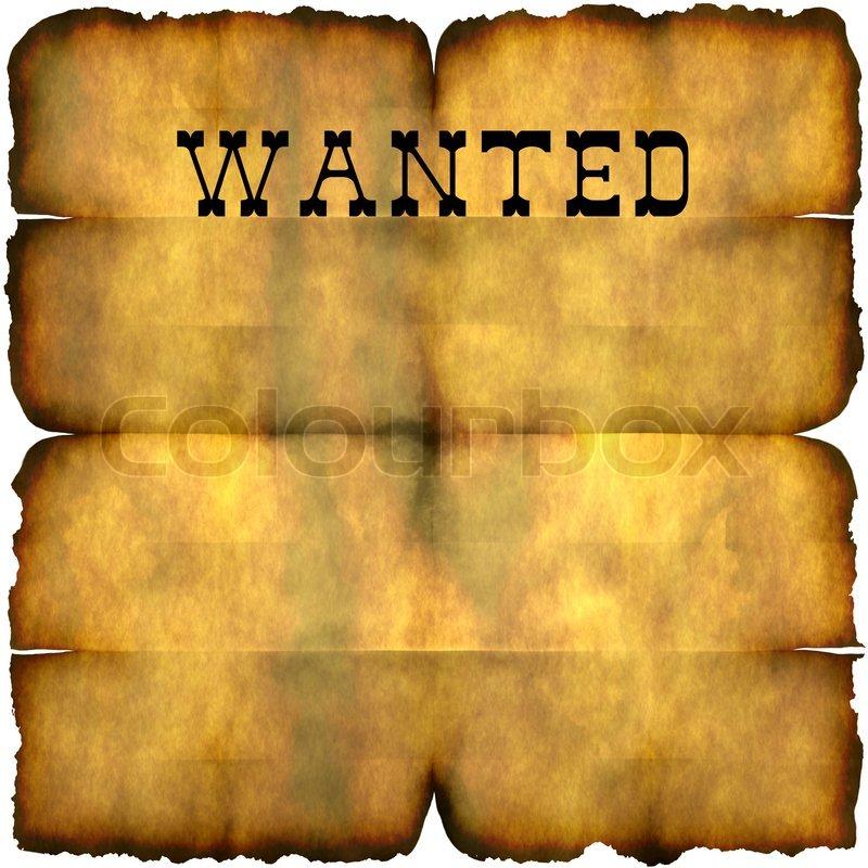 Drucke Selbst Kostenlose Vorlage Wanted Plakat 2