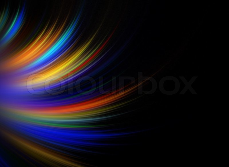 Abstract Fractal Artwork That Makes A Stock Photo Colourbox
