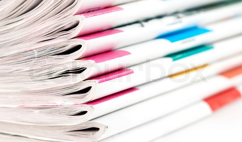 Sensation,magazine, newspaper, media, paper, reading, stack, data ...
