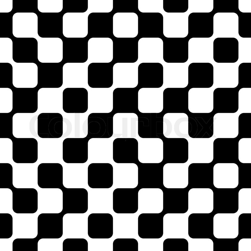 An abstract seamless pattern of black and white geometric for Black and white shapes