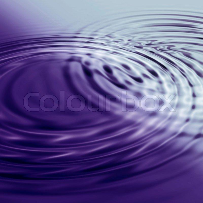 tiefblauen wasser hintergrund mit kreisf rmigen wellen aus dem regen stockfoto colourbox. Black Bedroom Furniture Sets. Home Design Ideas