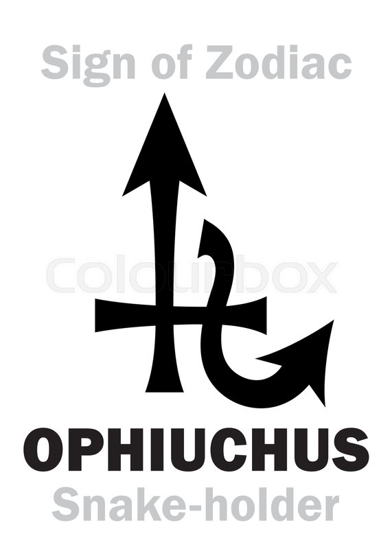 Astrology Alphabet 13th Sign Of Zodiac Ophiuchus Serpentarius