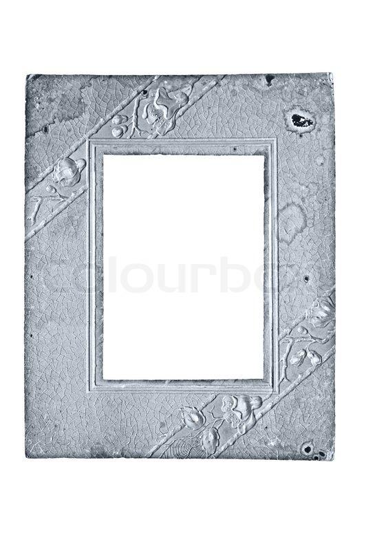 oldtime papprahmen f252r die fotografie stockfoto colourbox