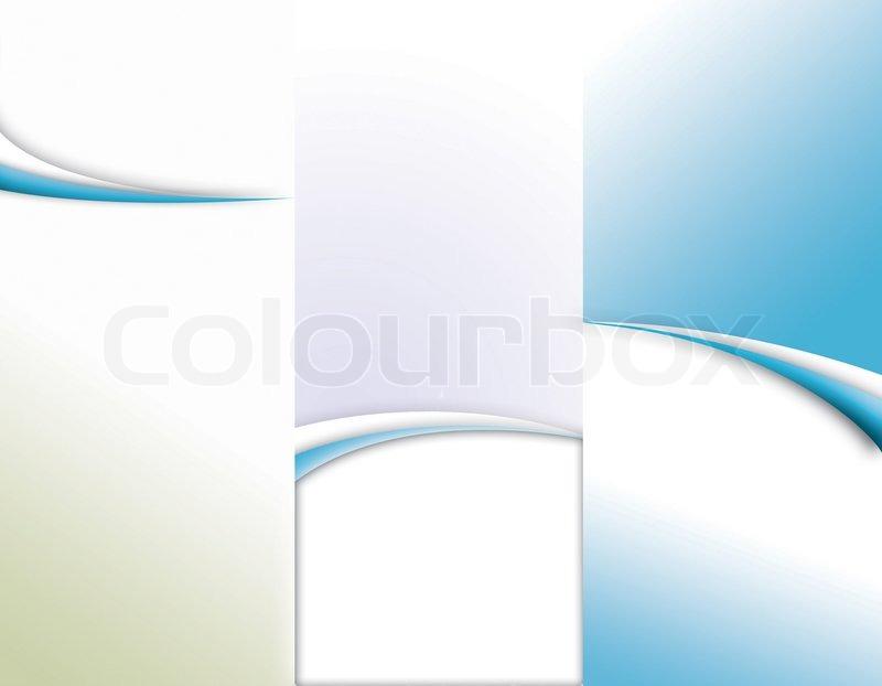 Blank Tri Fold Brochure Template Blank Brochure Templates For – Blank Tri Fold Brochure Template