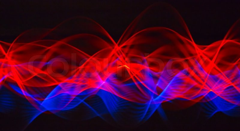 Red blue abstract background
