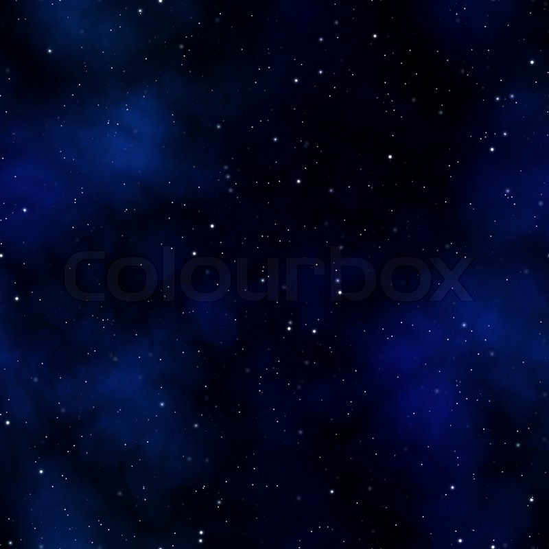 A starry nebula scene in outer space that tiles seamlessly for Outer space scene
