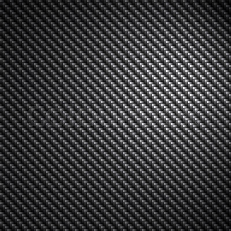 A Black Carbon Fiber Background Texture Stock Photo