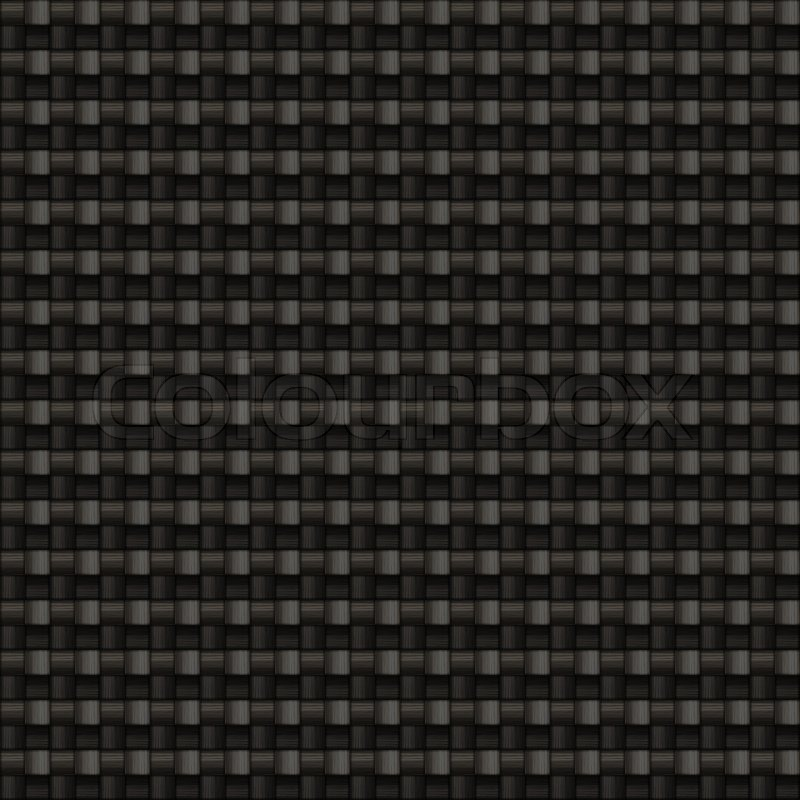 A Tightly Woven Carbon Fiber Background Texture This One