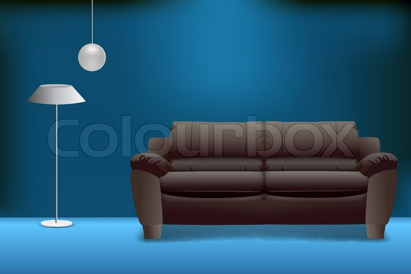 illustration of sofa set on abstract stock vector colourbox illustration of sofa set on abstract