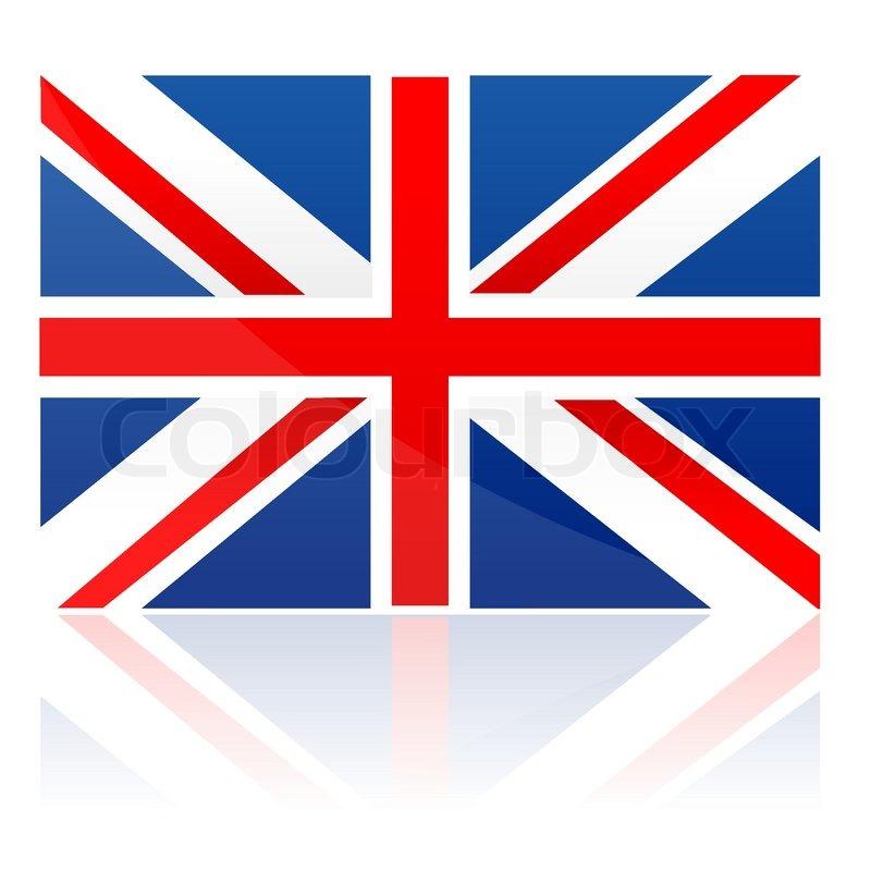 Illustration Of Flag London On Isolated Background