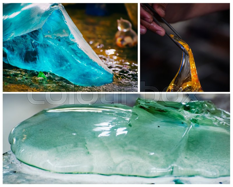 Glass Production Industry Background , stock photo