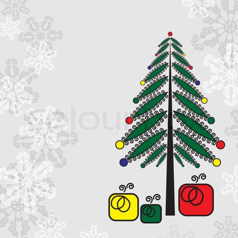 christmas background weihnachtsbaum und geschenke. Black Bedroom Furniture Sets. Home Design Ideas