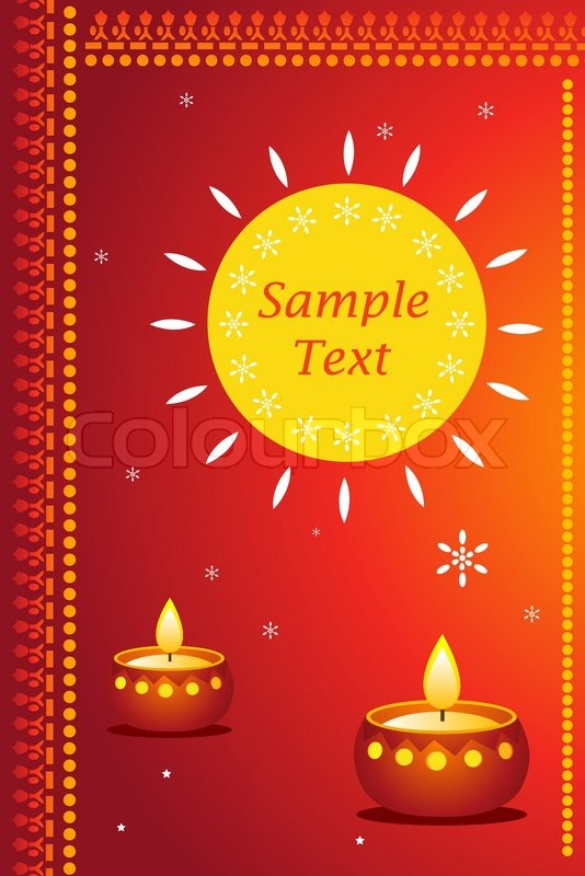 great way for expressing diwali greetings with sample text