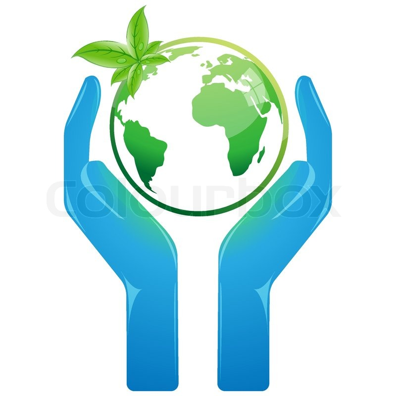 Illustration of save earth on white background stock vector colourbox - Mother earth clipart ...