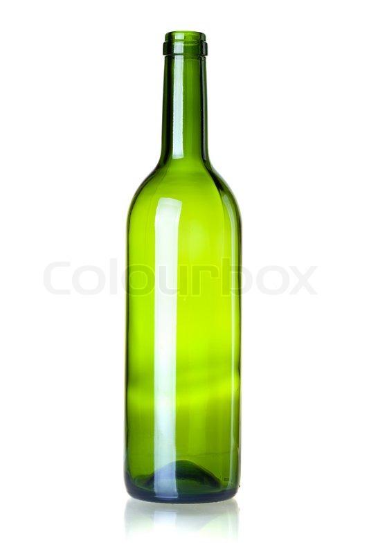 stehende flasche