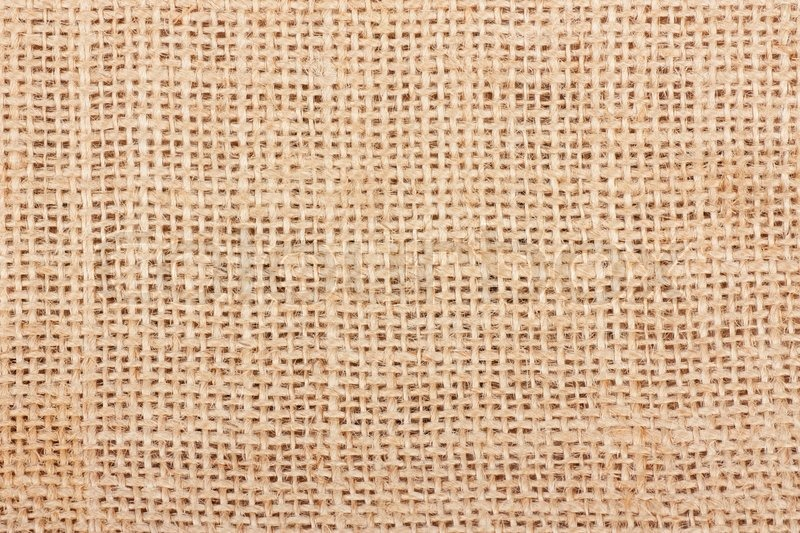 Macro view of sack texture, stock photo
