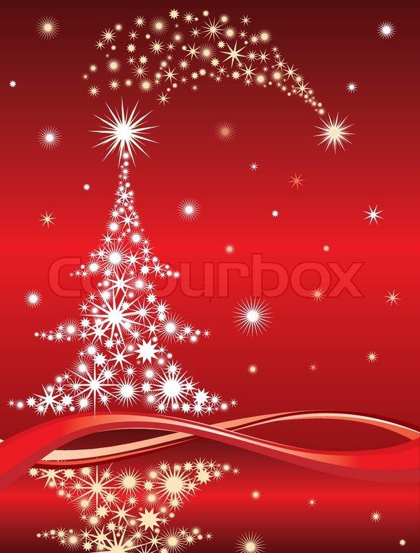 weihnachtsbaum hintergrund vektor illustration. Black Bedroom Furniture Sets. Home Design Ideas