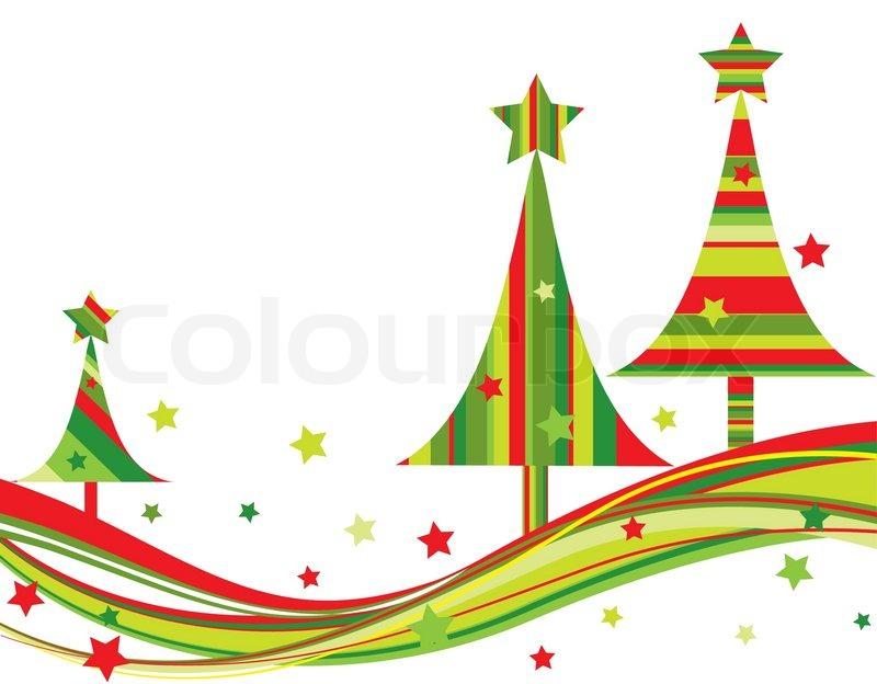 weihnachtsbaum hintergrund vektor illustration stock. Black Bedroom Furniture Sets. Home Design Ideas
