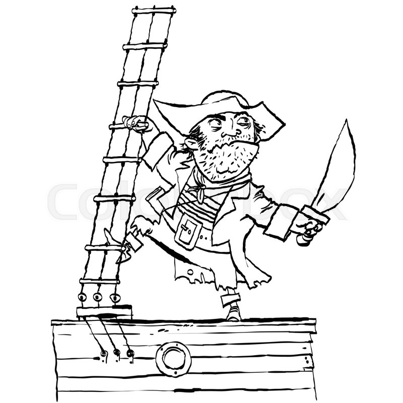 это картинка храбрый пират сковороде рецепт фото