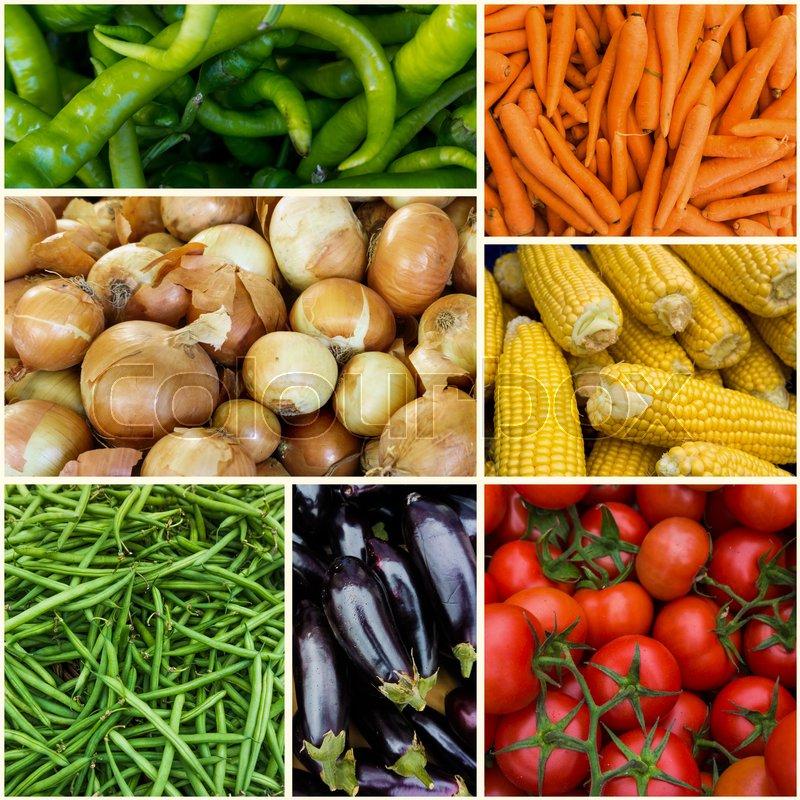 Fresh farm vegetables. ripe vegetables background, stock photo