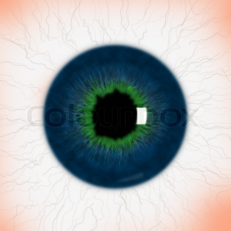 Realistic eye texture | Stock Photo | Colourbox