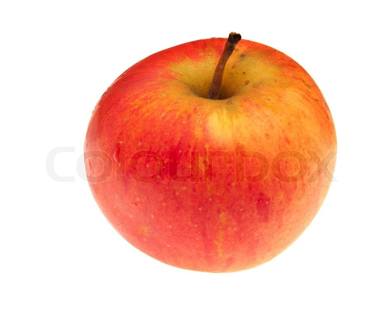 Yellow Apple Pictures Red Yellow Apple Isolated With