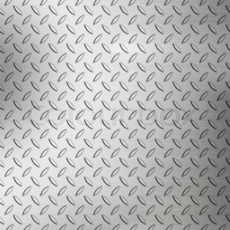 Stahl Diamant Platte Hintergrund Muster Mit Geb 252 Rstetem