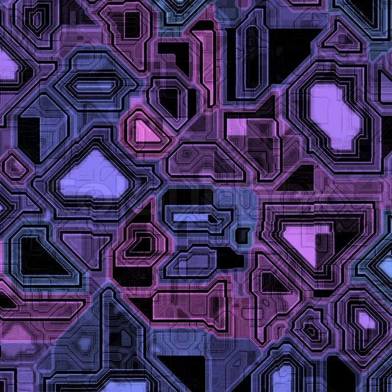 Illustration of some high-tech computer circuitry   Stock Photo ...
