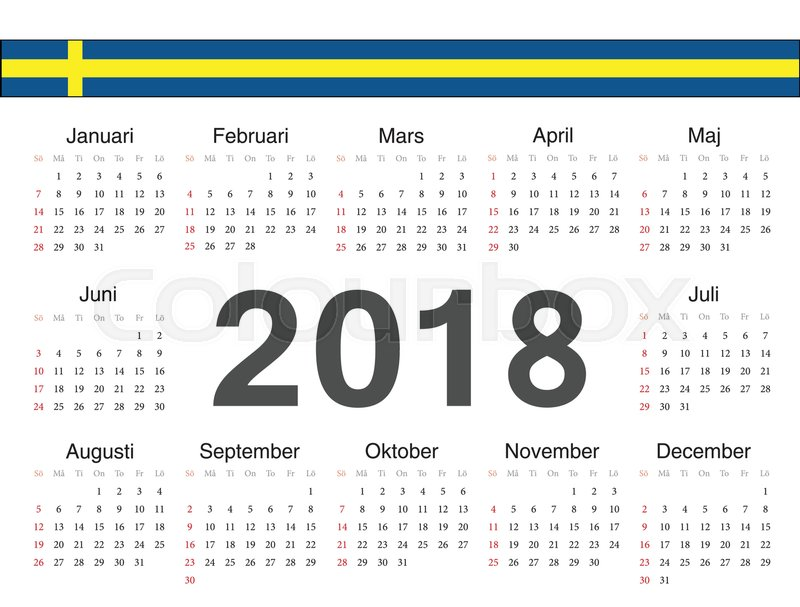 calendar sweden