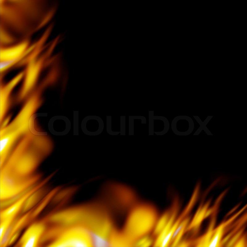 Graphic Design Borders Graphic Flames Border Add