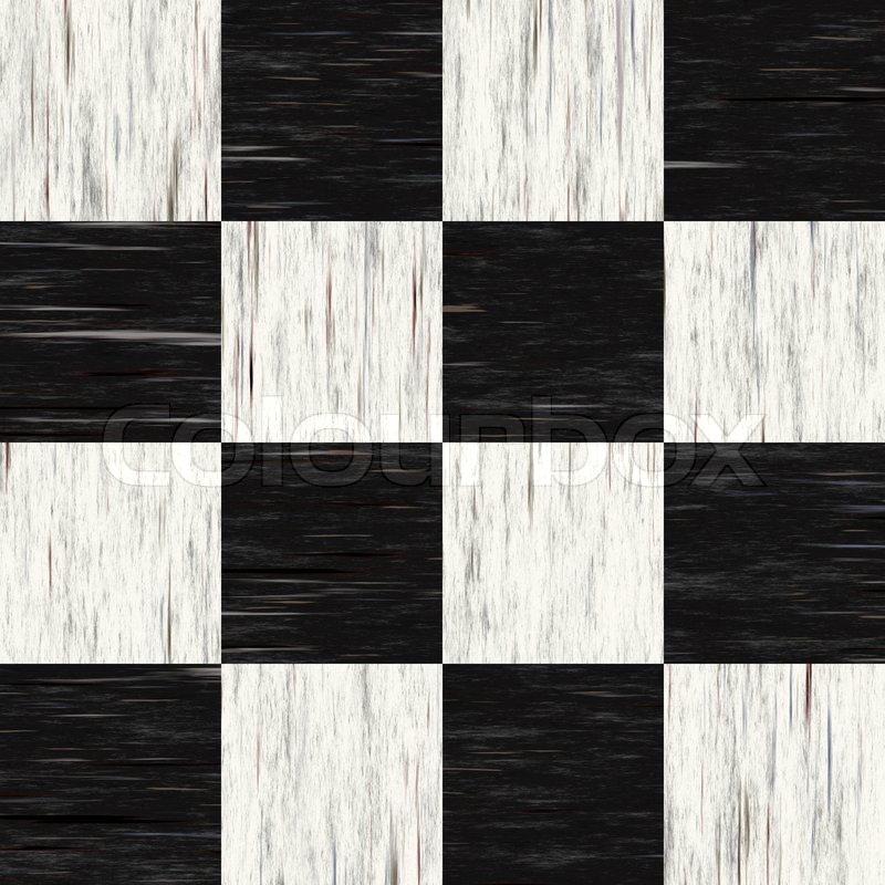 Black And White Checkered Floor Tiles Stock Photo Colourbox