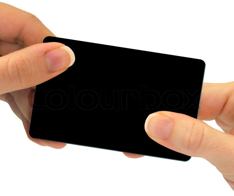 Two hands exchanging a blank card this can be a business card a two hands exchanging a blank card this can be a business card a gift card or even a credit card just to name a few different optionsuse your colourmoves