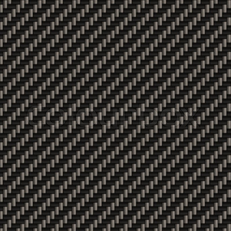 A Diagonally Woven Carbon Fiber Stock Image Colourbox