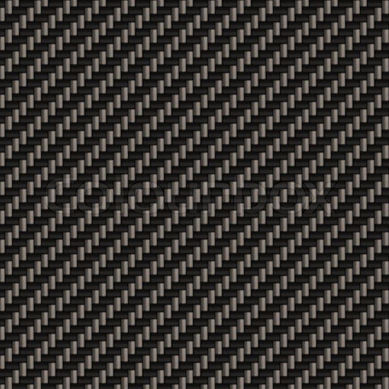 Ein Diagonal Gewebte Kohlefaser Stockfoto Colourbox
