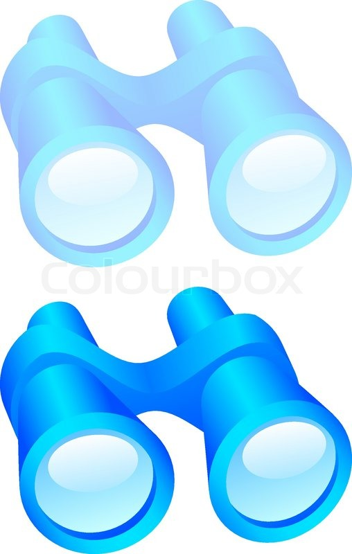 binoculars icon vector - photo #25