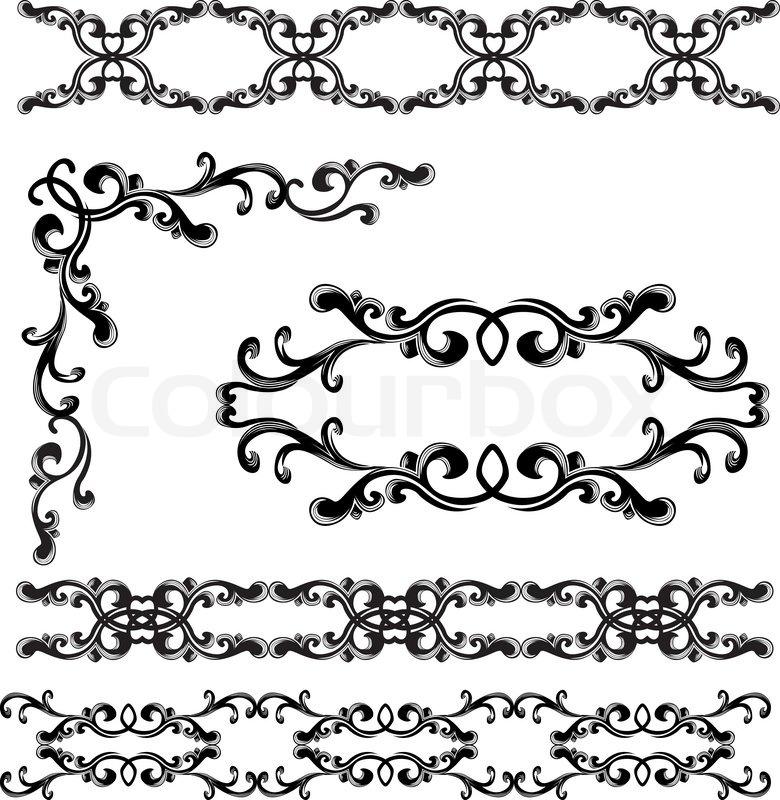 Elegant Border Vector Design | Joy Studio Design Gallery - Best Design