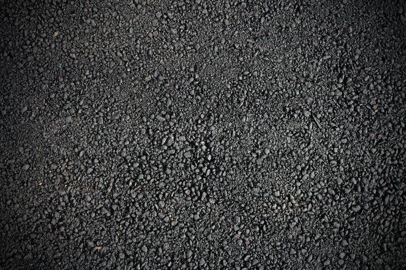 Asphalt Teer Textur Oberfläche, Stock Foto