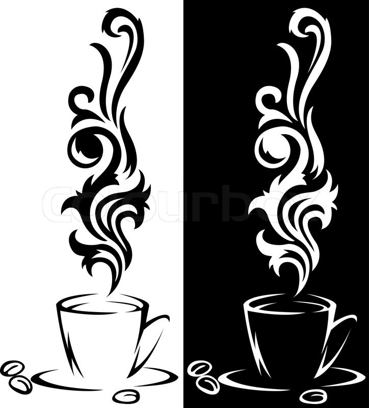 Steaming Coffee Cup Logo | www.pixshark.com - Images ...