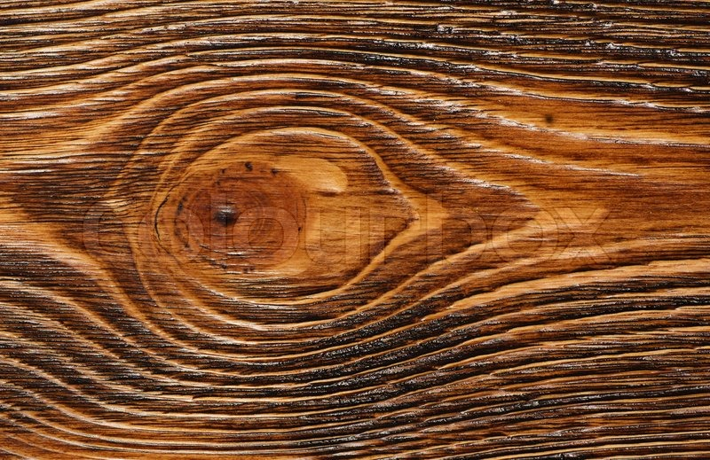 Wooden Texture Painted In Brown Close up Stock Photo