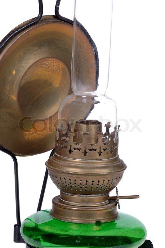Dejlig Nærbillede af en gammel lampe taget på | Stock foto | Colourbox YG-88