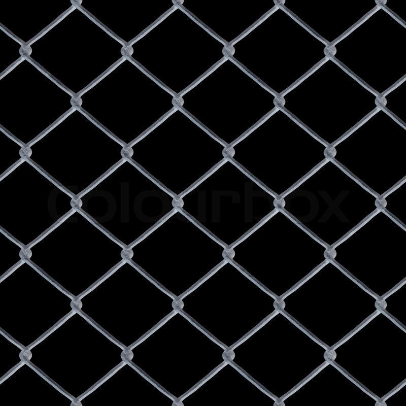 A d chain link fence texture over black this tiles