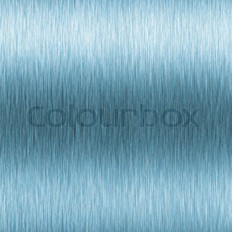 Beibehang Large Custom Wall Paper Cool Metal Texture: Blue Brushed Aluminum Texture With High ...