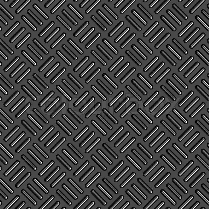 Diamond Plade Metal Tekstur En Meget Flot Baggrund For