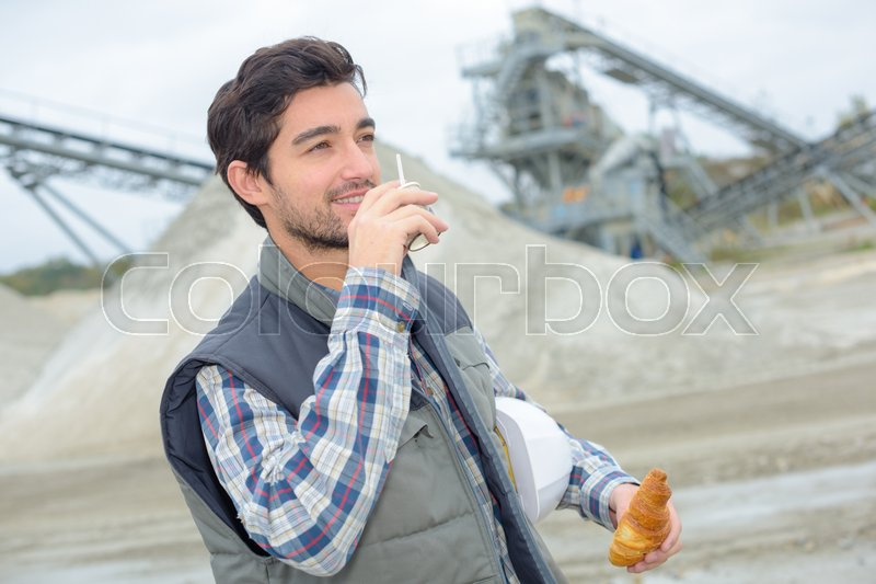 Crafts person, stock photo