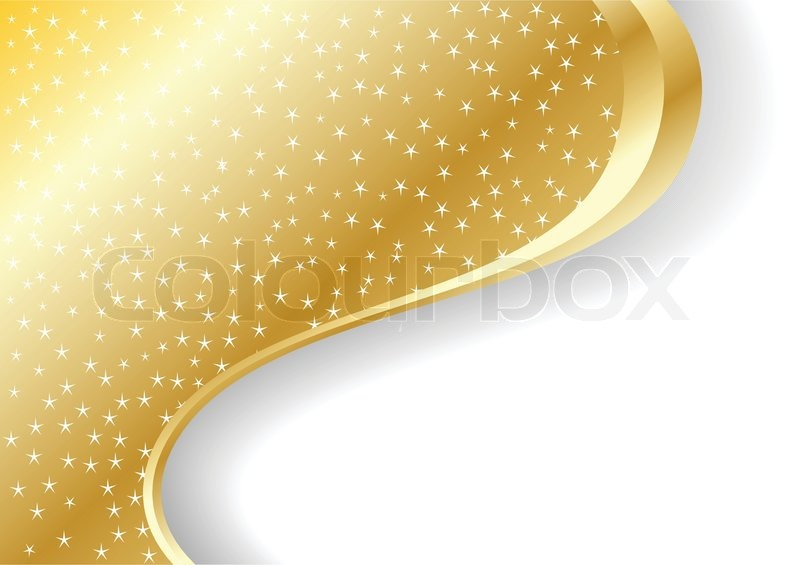 Vector Abstract Gold Background Stock Vector Colourbox