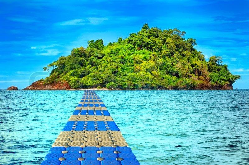 Tropical Island Trat Archipelago Thailand Stock Photo