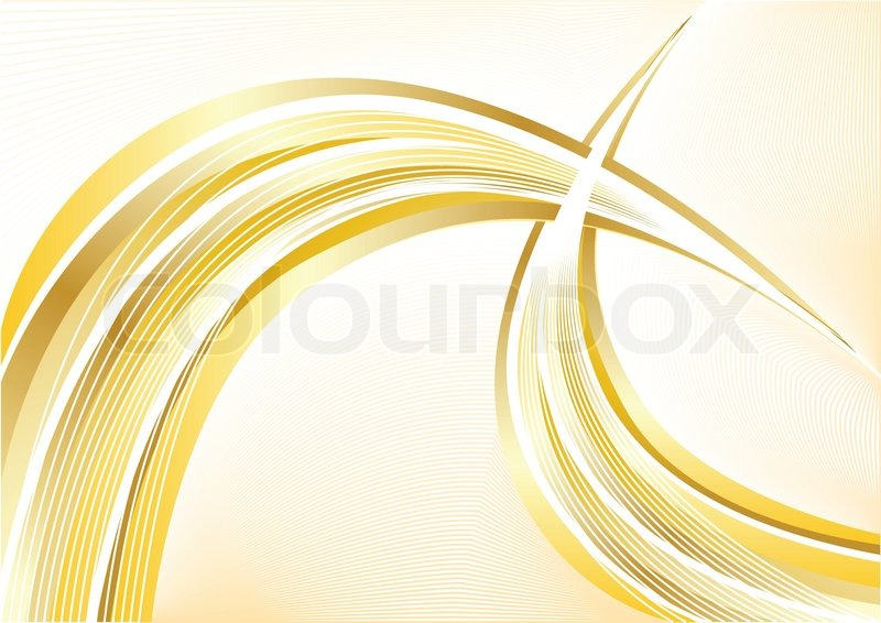 Vector gold abstract background | Stock Vector | Colourbox