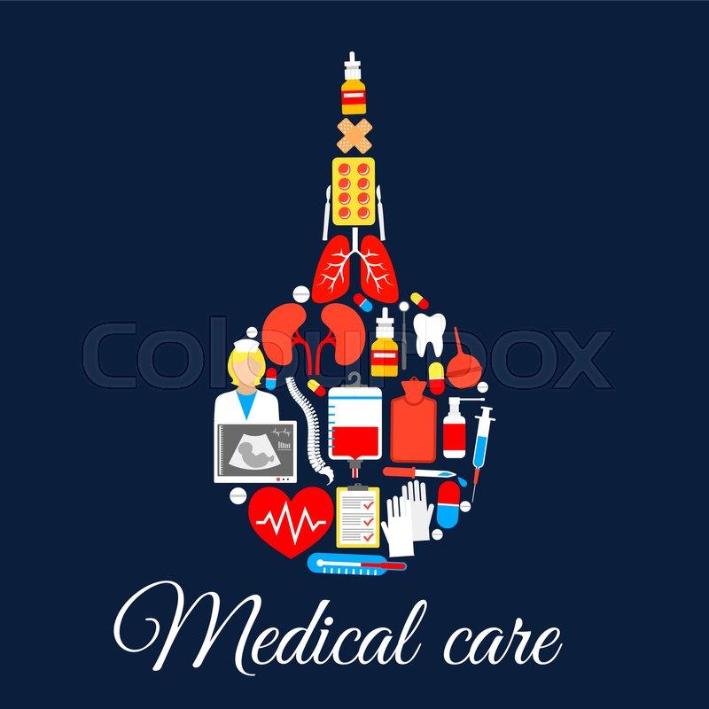 Medical Enema Bulb Syringe Symbol Of Medicine Healthcare Items And